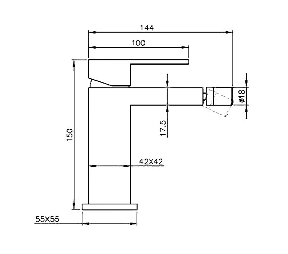 Technical drawing QS-V60574 / CU011