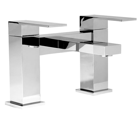 Phoenix CU Series Deck Mounted Bath Filler Tap Chrome - CU013