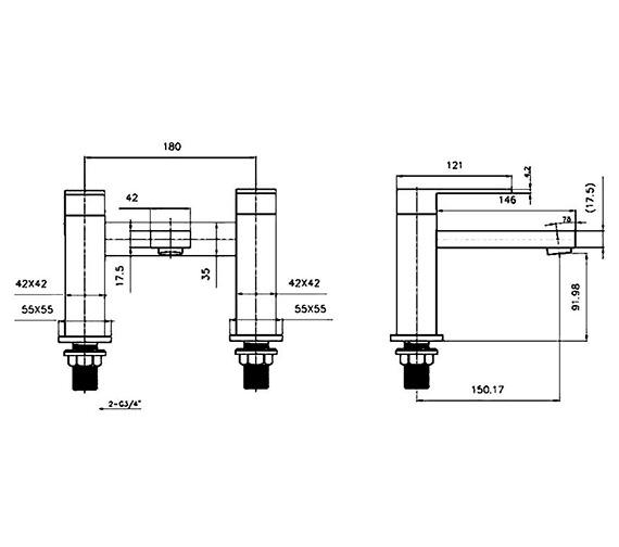 Technical drawing QS-V60577 / CU013