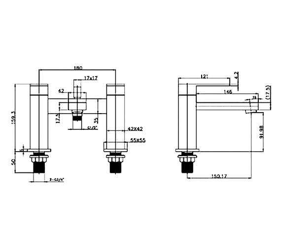 Technical drawing QS-V60578 / CU019