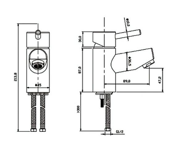 Technical drawing QS-V60659 / PL004