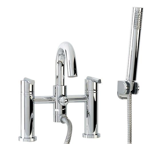 Phoenix SA Series Deck Mounted Bath Shower Mixer Tap Chrome - SA019