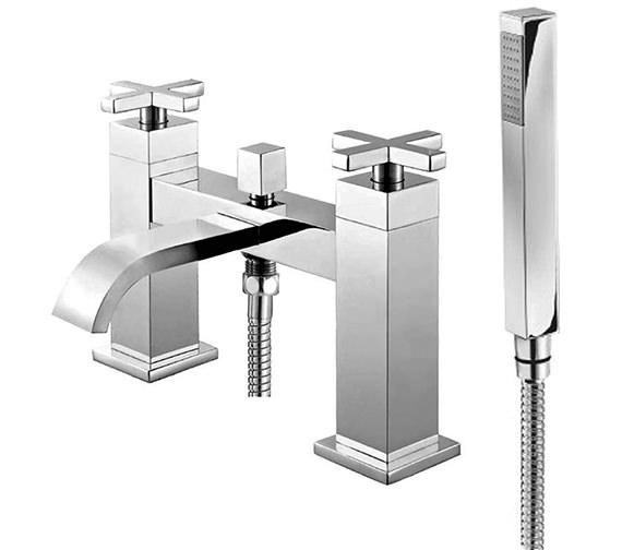 Phoenix DC Series Deck Mounted Bath Shower Mixer Tap With Shower Kit