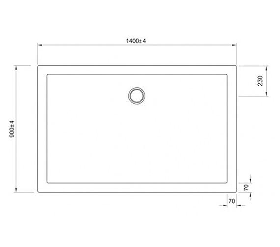 Technical drawing QS-V60700 / STWK91400