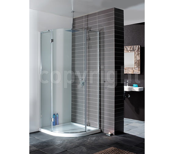 Simpsons Design Single Door Shower Quadrant 800mm - DQSSC0800