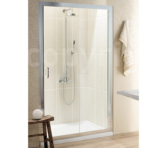Simpsons Classic Single Slider Shower Door 1000 x 1950mm