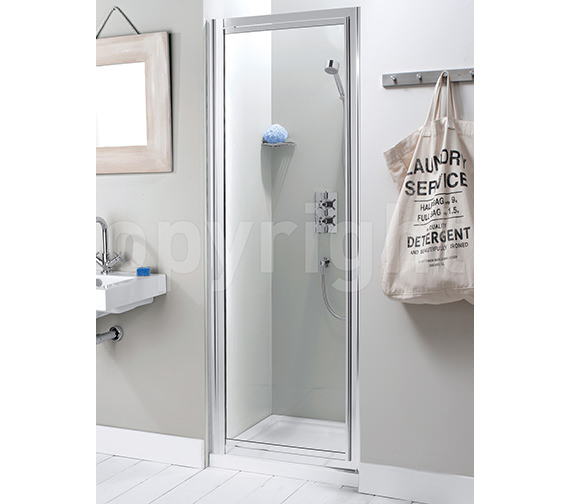 Simpsons Supreme 760-800mm Framed Pivot Door - 7138