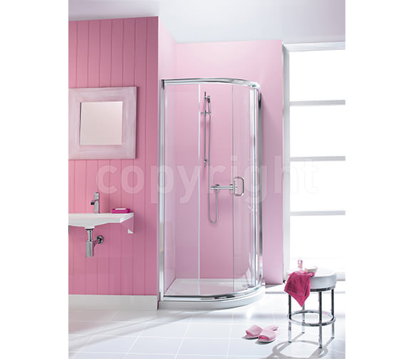 Simpsons Supreme Framed Quadrant Single Door 1000 x 800mm - 5336