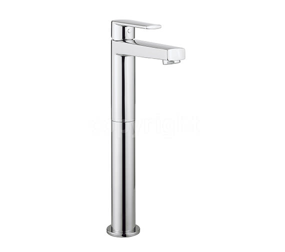 Crosswater Solo Tall Monobloc Basin Mixer Tap Chrome - SO112DNC