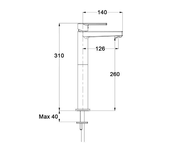 Technical drawing QS-V60812 / SO112DNC