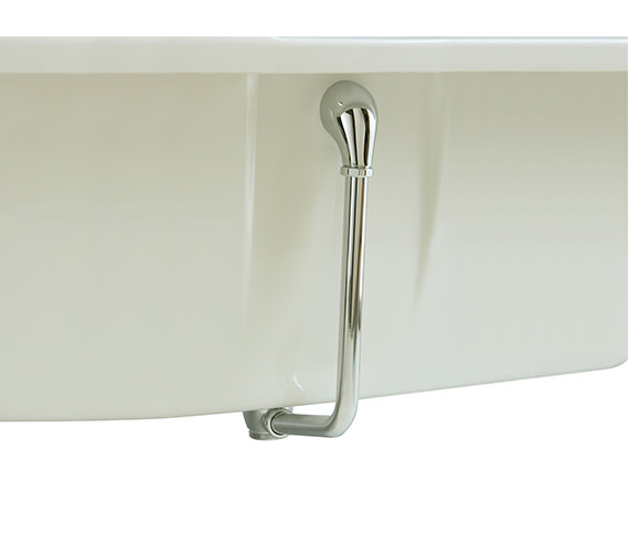 Heritage Exposed Push Button Bath Waste - THC21