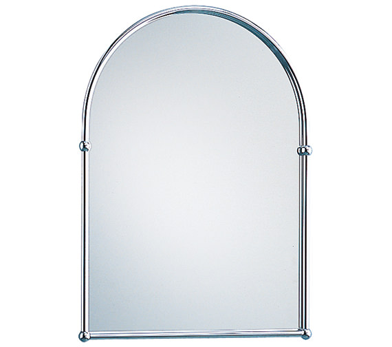 Heritage Arched 488 x 673mm Mirror Chrome