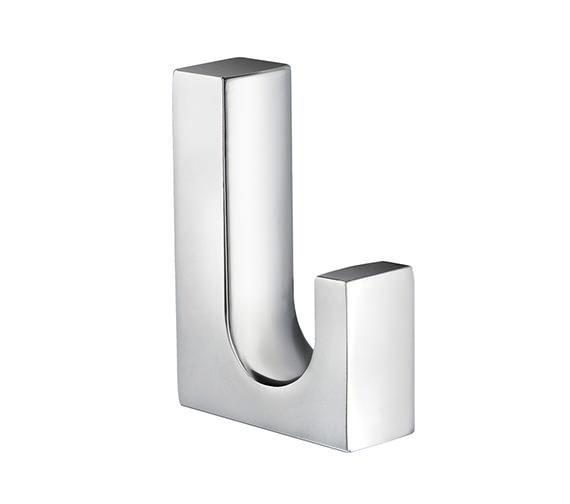 Smedbo Life Chrome Single Towel Hook Small