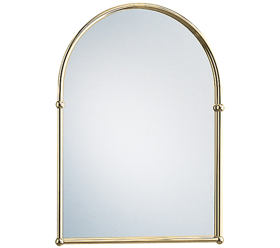 Heritage Arched 488 x 673mm Mirror Vintage Gold - AHA09