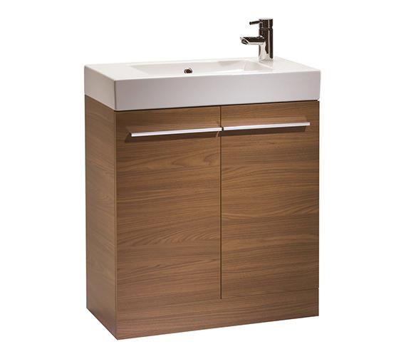 Tavistock Kobe 700mm Walnut Floorstanding Unit And Basin - K70FAW