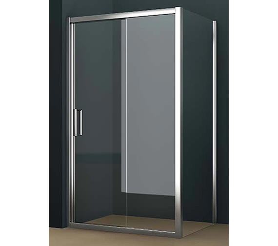 Tavistock oxygen 8 straight sliding shower door 1400mm for 1400mm sliding shower door
