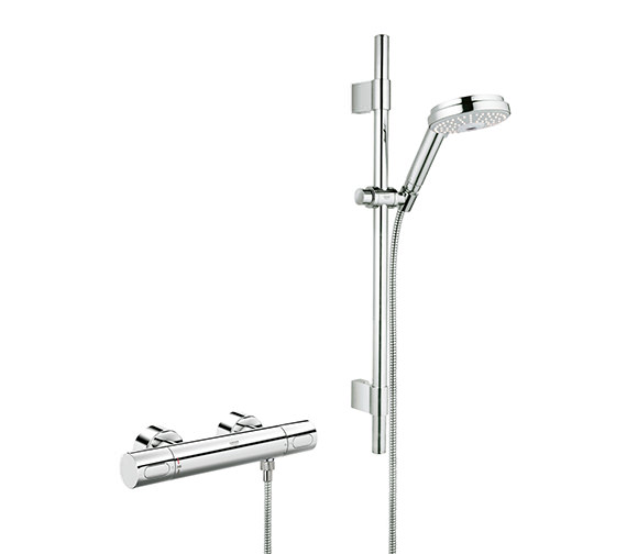 Grohtherm 3000 Cosmo Thermostatic Shower Mixer With Kit - 34275000