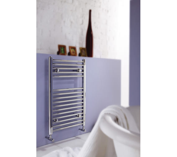 MHS Space White Towel Rail 450 x 770mm - SPSWH-B-45 077