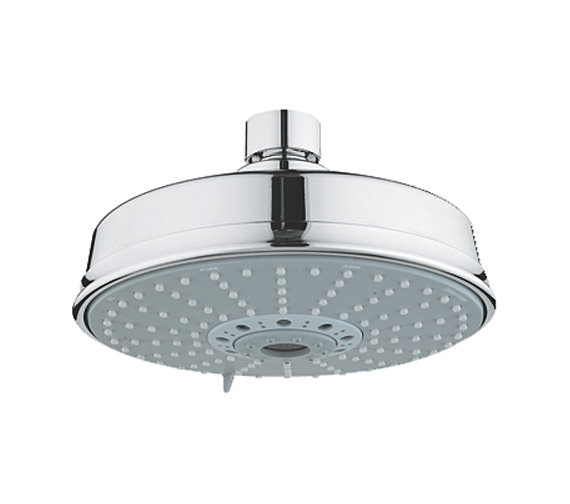 Grohe Rainshower Rustic Shower Head Chrome - 27128000