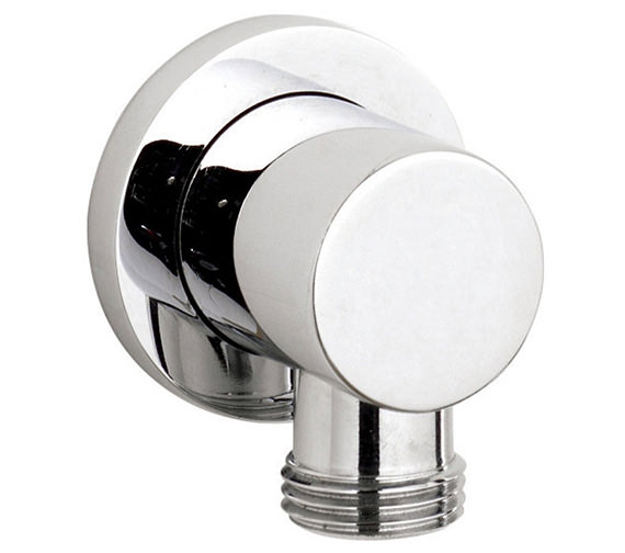 Nuie Premier Minimalist Chrome Outlet Elbow - A3275
