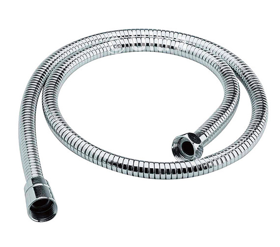 Nuie Premier 1.5 Metre Chrome Flex Shower Hose - A391