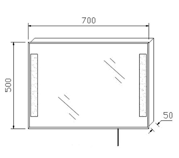 Technical drawing QS-V41897 / BEO-2168