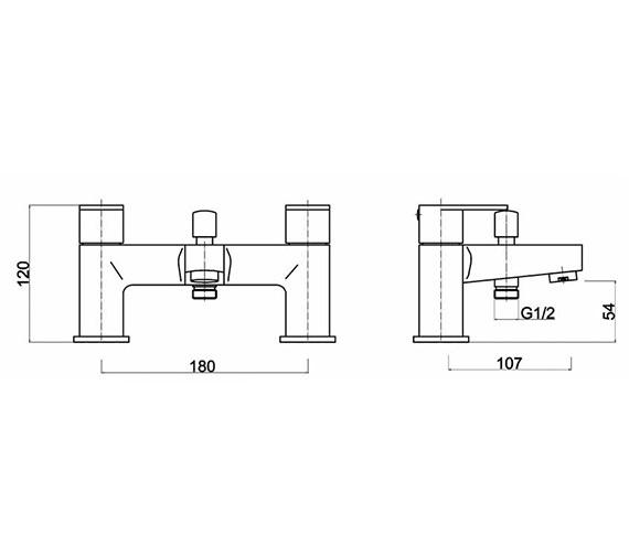 Technical drawing QS-V61433 / RAT314