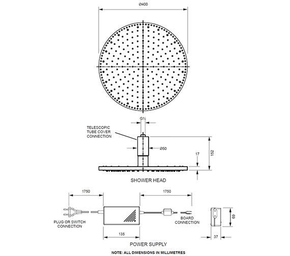 Technical drawing QS-V61583 / FHX740C
