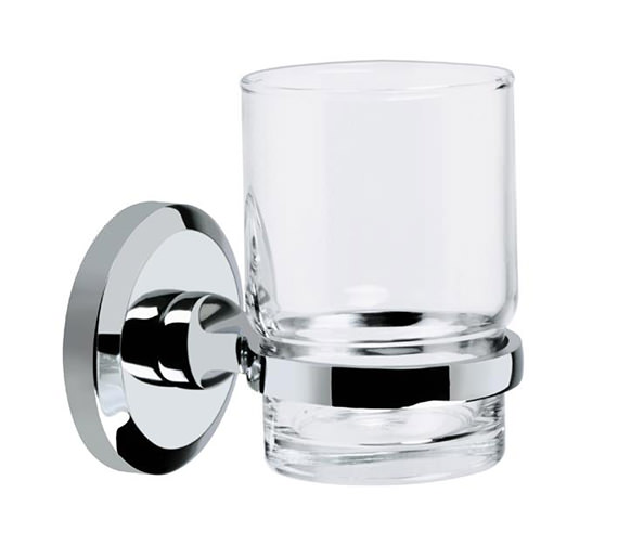 Bristan Solo Toothbrush And Tumbler Holder Chrome Plated - SO HOLD C