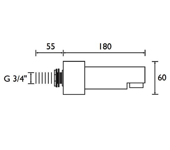 Technical drawing QS-V61685 / BS1 C