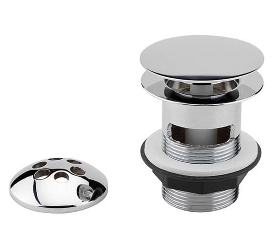 Tre Mercati 1 1-2 Inch Bath Pop Up Waste With Mushroom Plug - 717A
