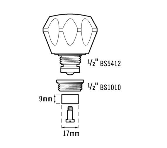 Technical drawing QS-V61787 / Vict/44