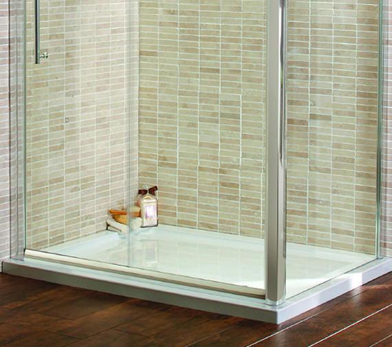 Duravit D-Code Rectangular Antislip Shower Tray