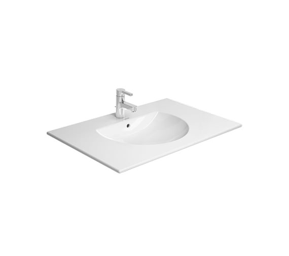 Additional image of Duravit Delos 1 Compartment White Gloss Unit With Darling New 830mm Basin