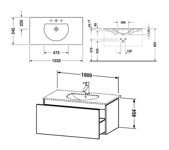 Technical drawing QS-V10800 / DL623302222