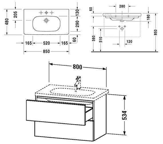 Technical drawing QS-V10777 / DL633501212