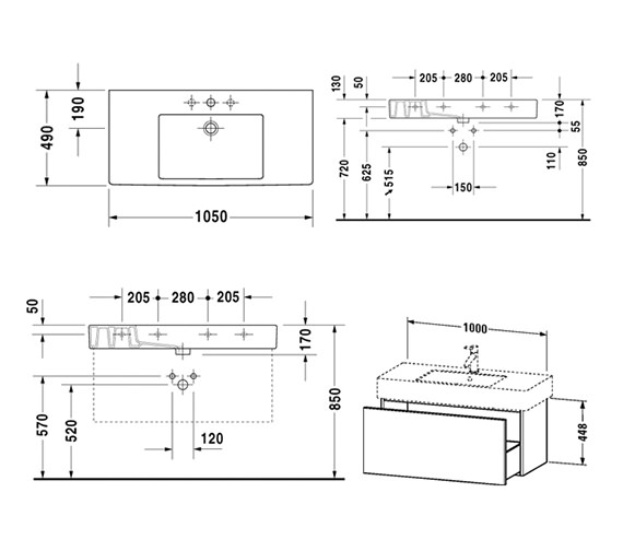 Technical drawing QS-V10744 / DL622102222