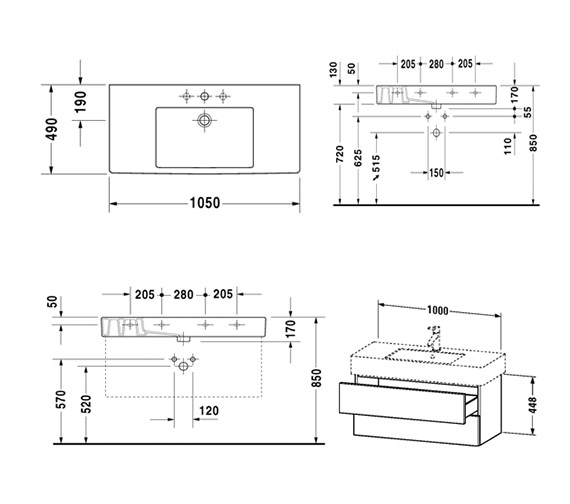Technical drawing QS-V10753 / DL632102222