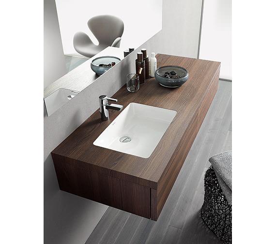 Duravit Delos 1800 x 565mm Console For Undercounter Basin - DL6992L1818