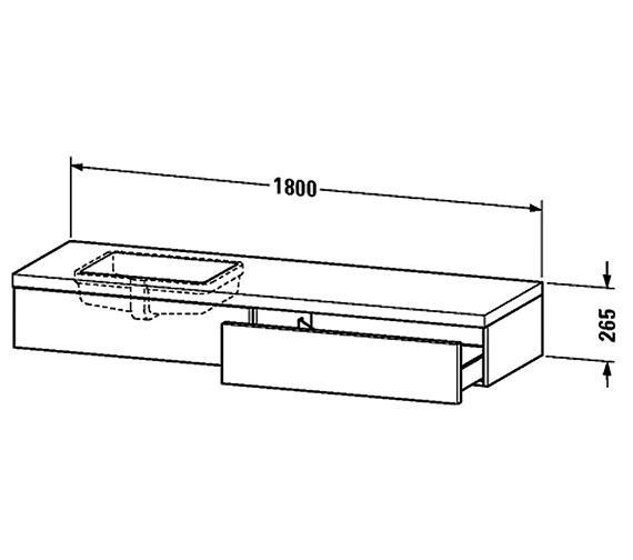 Technical drawing QS-V61853 / DL6992L1818