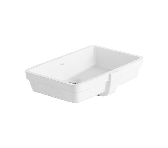 Duravit Vero White 485 x 315mm Grinded Vanity Washbasin - 0330480022