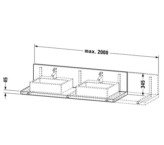 Technical drawing QS-V39833 / DL043C04040
