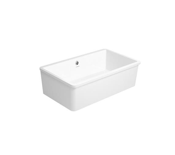 duravit vero 80 undercounter 745 x 445mm kitchen sink. Black Bedroom Furniture Sets. Home Design Ideas