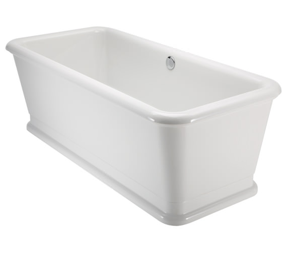 Burlington London Rectangular Soaking Bathtub 1800 x 850mm - E19