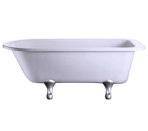 Blenheim Single Ended Bath With Chrome Classical Legs - E2 - E10 CHR