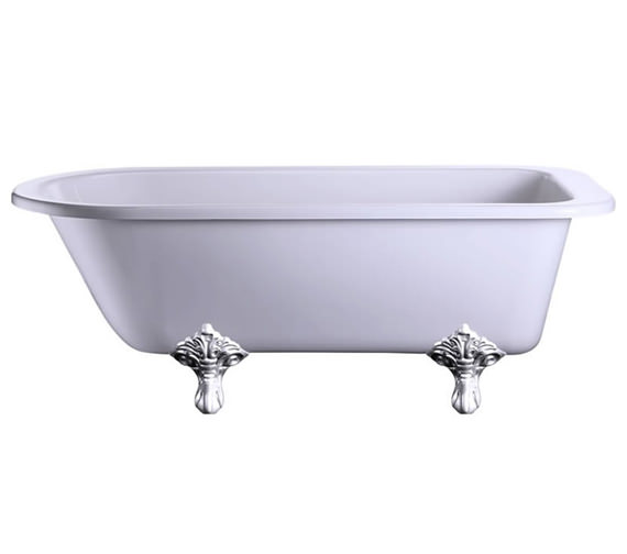 Blenheim Single Ended Bath With Chrome Traditional Legs - E2 - E11 CHR