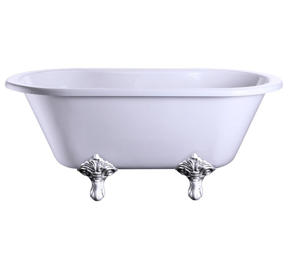 Windsor Double Ended 150cm Bath With Traditional Legs - E4 - E11 CHR