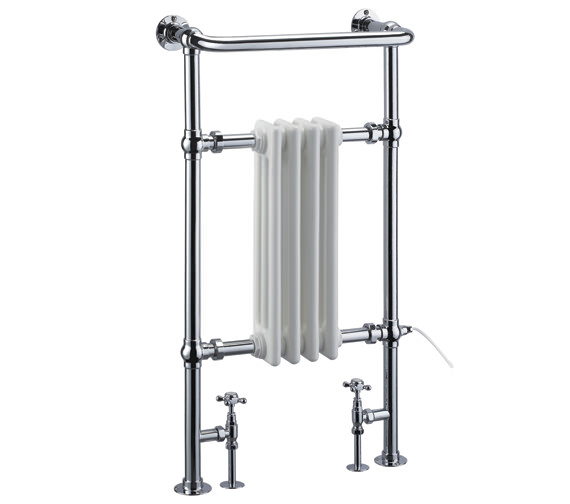 Burlington Bloomsbury Radiator 497 x 950mm - R2 CHR