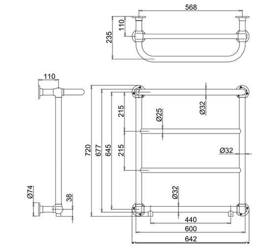 Technical drawing QS-V61981 / R3 CHR