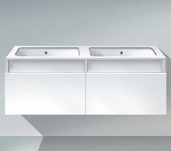 Duravit DuraStyle 1400mm 2 Cut-Out Unit For Undercounter Basin